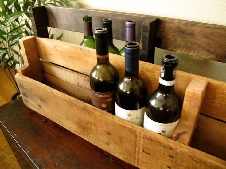 Pallet Wine Rack Tutorial