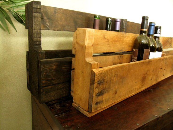 DIY Pallet Wine Rack Tutorial