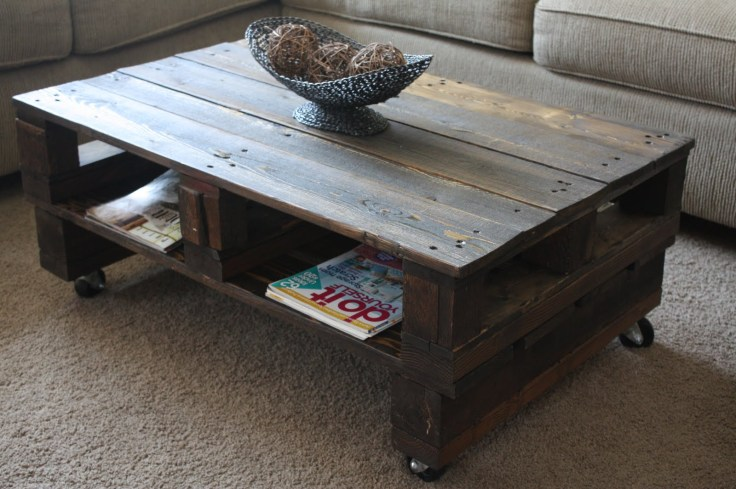 Pallet Coffee Table from WilsonsAndPugs.com
